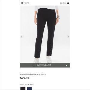 NWOT Chico's Black Pants